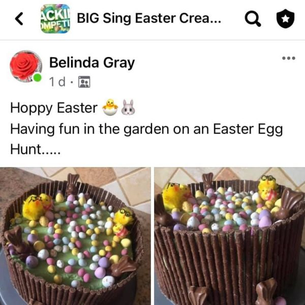 Belinda Gray-Easter Competition