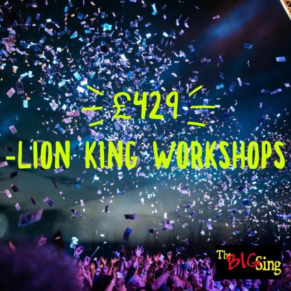 Events-Lion King Refreshments _ Raffle