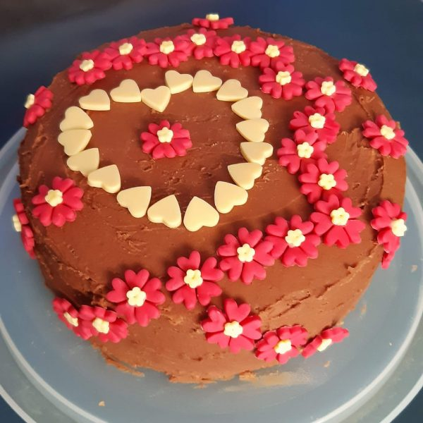 Pauline Roche-Valentine bake off